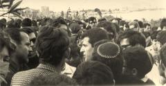 Picture from Eran Torbiner's film about Matzpen