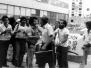 A demonstration against Israel Kenig – Tel Aviv, September 1976