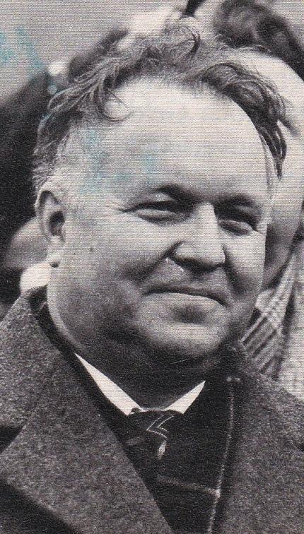 סולידאריות: יו'ר המפלגה הקומוניסטית הפולנית, סטאניסלאב קאניה