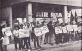 מחאה נגד המלחמה המזוהמת בווייטנאם 1969