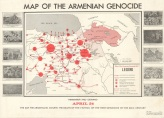 שייח' בראק: גורלו של מיעוט - מפה של השמדת העם הארמני
