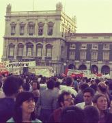 הפגנת השמאל המהפכני בליסבון 3, פורטוגל, אוגוסט 1975 (צילום: אביבה עין-גיל)