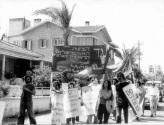 חברי מצפן בהפגנה בינלאומית 5: ניקוסיה, 14 ביוני 1976