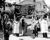 חברי מצפן בהפגנה בינלאומית 6: ניקוסיה, 14 ביוני 1976